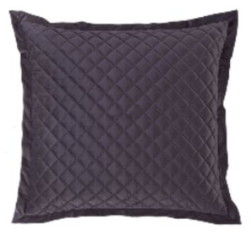 Cowgirl Kim Luxurious Quilted Amethyst Euro Shams~ Shams Only