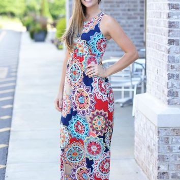 Medallion Beauty Maxi Dress