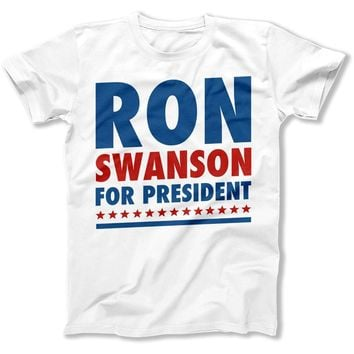 Ron Swanson For President - T Shirt