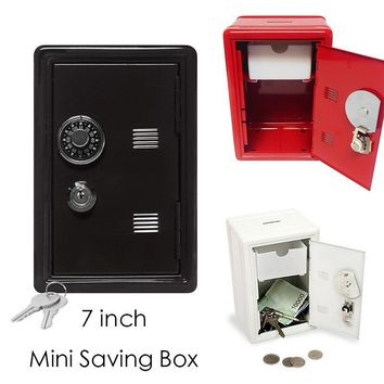 New Arrival Mini Metal Code Case Safe Box Cute Money Bank Saving Box