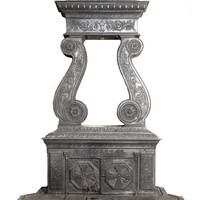 Say Your Offer! Francis Low and John S. Leake Parlor Stove 1844 Rare Included Original Stove Pipe & Bracket