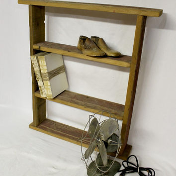 Rustic Barn Board Shelf - Rustic Shelf - Rustic Decor - Shabby Chic - Antique barn board - Vintage Shelf - Shelf - Chippy - Distressed Paint