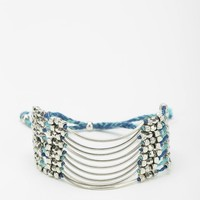 Layered Braided Anklet - Urban Outfitters