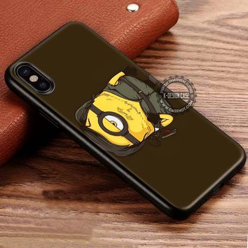 Walking Dead Minion Daryl Dixon iPhone X 8 7 Plus 6s Cases Samsung Galaxy S8 Plus S7 edge NOTE 8 Covers #iphoneX #SamsungS8