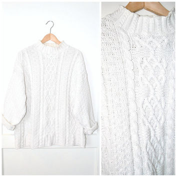 Best Fisherman Cable Knit Sweaters Products on Wanelo