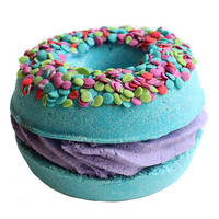 Blueberry Muffin Donut Sandwich Bath Bomb