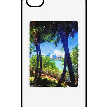 Tropical Skyline iPhone 4 / 4S Case  by TooLoud