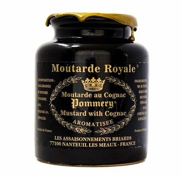 17.6 oz Pommery Royal Mustard with Cognac (500 g)