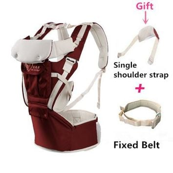 Toddler Backpack class Discount! Kangaroo Breathable Backpacks Organic cotton baby carrier Sling Toddler wrap Rider canvas Activity&Gear suspenders AT_50_3