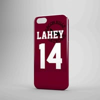 Teen Wolf Issac Lahey Lacrosse Jersey iPhone Case Samsung Galaxy Case TM00 3D