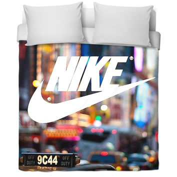 Nike bed cover