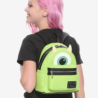 Loungefly Disney Pixar Monsters Inc. Mike Mini Backpack