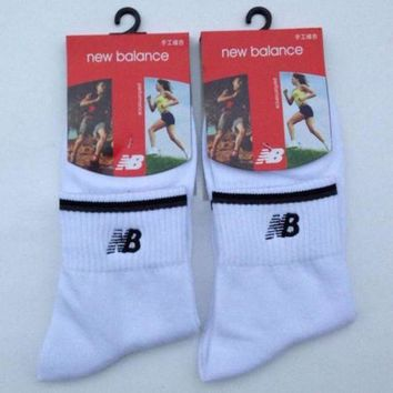 ONETOW one nice new balance men casual sport embroidery thick socks stockings