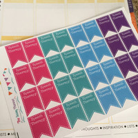 Free Shipping C1 Therapy stickers (speech, physical, occupational, PT, OT) for Erin Condren Life Planner/Plum Paper Planner - set of 32