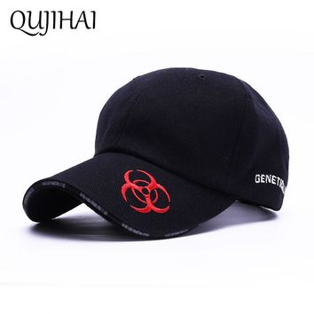 0c5ad765c7d Trendy Winter Jacket QUJIHAI Baseball Cap EUR Embroidery Hat Big