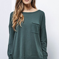 LA Hearts Pocket Tunic Pullover Sweater at PacSun.com