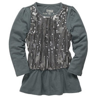 TLC Tunic in Sequins