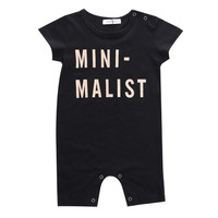 Newborn Baby Boy Girls Short Sleeve Romper Jumpsuit   Clothes Outfit 0-3Y