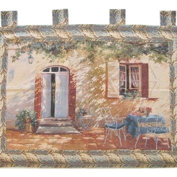 """Shadow of Life Elegant Woven Fabric Baroque Tapestry Wall Hanging - 36"""" X 50"""""""