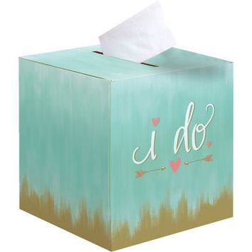 Mint to Be Card Holder Box 12in x 12in | Party City