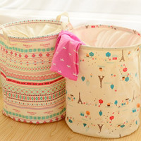 Laundry Hampers with Cute Prints - Large, Foldable, and Adorable