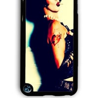 IPod 5 Case - Hard (PC) Cover with Rocky Horror Picture show Dr Franknfurter Plastic Case Design