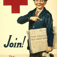 WWI Poster Join! The American Red Cross