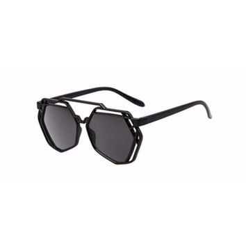 Poly Cat Eye Sunglasses