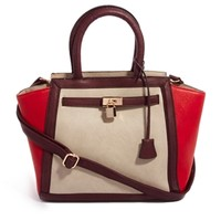 Oasis Belted Winged Tote Bag