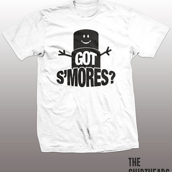 Got S'mores? T-shirt - funny tees, camping food, killing me smalls, men, women, gift, gram cracker, chocolate, marshmallow, yummy tees