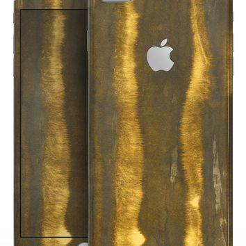 Reflective Golden Forest - Skin-kit for the iPhone 8 or 8 Plus