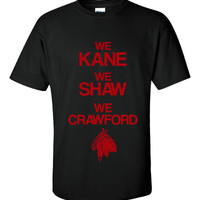 They're BACK! Chicago Blackhawks Hockey We Kane We Shaw We Crawford Hockey Printed T Shirt Great Chicago Stanley Cup Tee