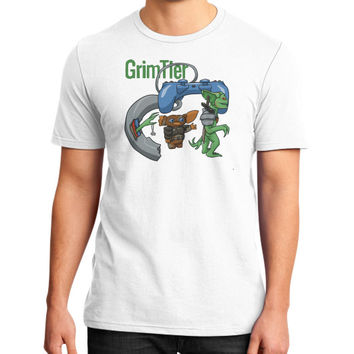 Gaming Gremlins District T-Shirt (on man)