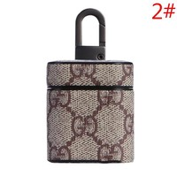 LV Louis Vuitton & GUCCI Fashion New Monogram Check Print Couple Protective Case Earphone Case No Headphones