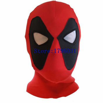 Free Hot Brinquedos Funko Pop X-Men Movie Deadpool Figure Party Face Mask Juguetes Kids Toys Deadpool Cosplay Costume Mask