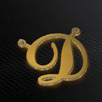 Gold Plated Initial Necklace