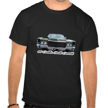 1969 Cadillac Deville Convertible T Shirt