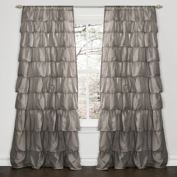 Special Edition by Lush Decor Ruffle Synthetic Rod Pocket Curtain Single Panel
