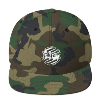 Fit Fam Snapback Hat