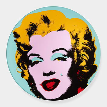 Andy Warhol: Marilyn Plate Blue | MoMA