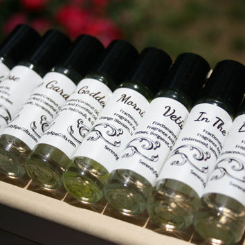 Artisan Perfume Samples Set Of 10 Unique Fragrances