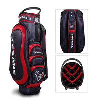 Houston Texans NFL Cart Bag - 14 way Medalist