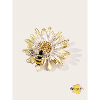 Bee My Sunshine Brooch