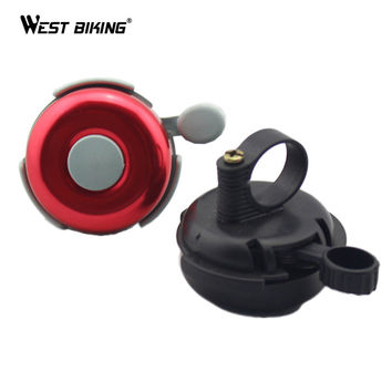 Bike Bicycle Horn Cycling Bell Fit 2.2CM Handlebar Crisp Ringing Gear Mechanical Bell Bicycle Cycling Ring for Bicycle Handlebar