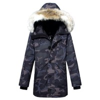 Canada Goose Gender: Unisex Color:bluearmy Green Season: Spring Autumn Winter Style: Casual Material: Cotton  Best Deal Online