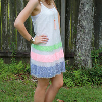 Magnolia Mill Stripe Delight Dress