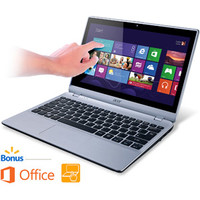 """Walmart: Acer 11.6"""" Touchscreen Laptop, V5-122P-0889, with AMD A4-1250 Dual-Core Processor, 4GB Memory, 500GB Hard Drive, Windows 8 with preload MS-Office Home & Student"""