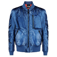 Blue Astronaut Bomber Jacket by Y-3