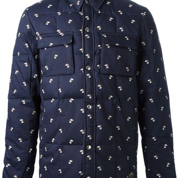 Penfield pooch print quilted jacket