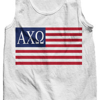 Alpha Chi Omega USA Tank Top
